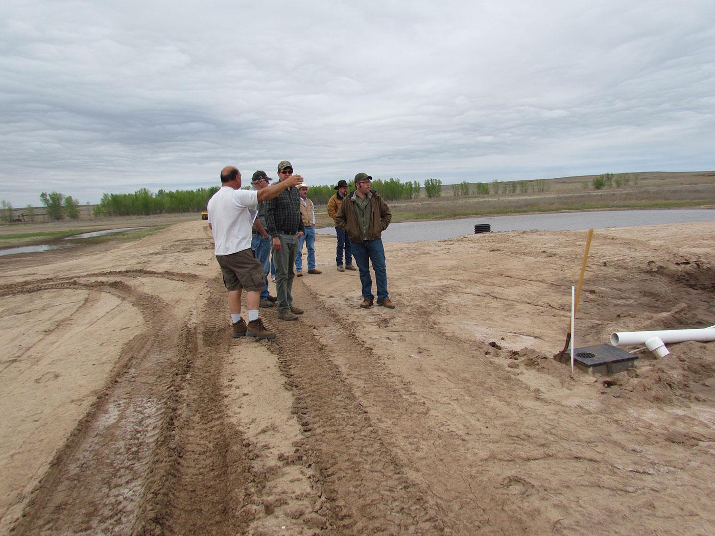 DU & NRCS site visit